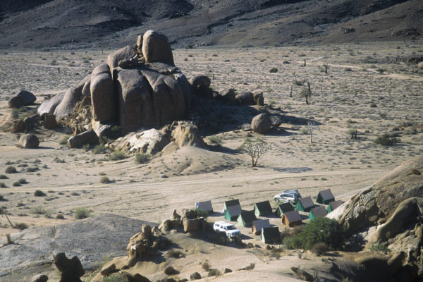 Tent village - Freeman Patterson Tour